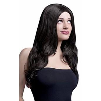 【Smiffys Womens Brown Fever Rhianne Wig, 26inch/66cm - One Size】 n    b00dy9h3u4