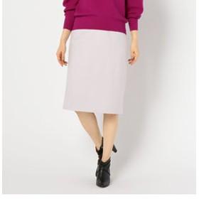 【NOLLEY'S:スカート】[新色追加]圧縮ウールハイウエストスカート