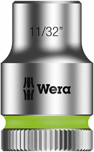 Hex Head 1-3//16-Inch x Length 37mm Wera Zyklop 8790 HMC 1//2-Inch Socket