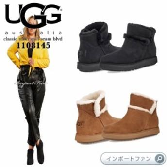 アグ クラシック ミニ スピル シーム BLVD ブーツ 1108145 UGG classic mini spill seam blvd □