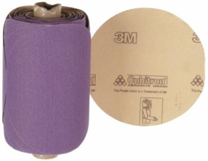 Roll of 100 PSA Attachment P180 Grit 5 Diameter 5 Diameter 3M Stikit Paper Disc Roll 735U Ceramic Aluminum Oxide