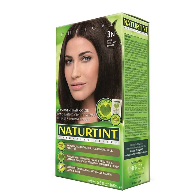 Naturtint 赫本 赫本染髮劑3N深棕黑色 155ml【瑞昌藥局】000505