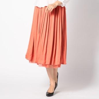 GALLORIA レディース 【在庫限り】チュールリバーシブルスカート