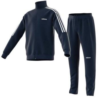 アディダス(adidas) キッズ SERENO トリコット トラックスーツ カレッジネイビー/ホワイト HBQ84 FN5812 ジャケット パンツ 上下セット セットアップ