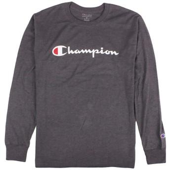 メンズ 長袖 Tシャツ ロンT カットソー クルーネック Long Sleeve Tee GT78H Lサイズ CHARCOAL [並行輸入品]