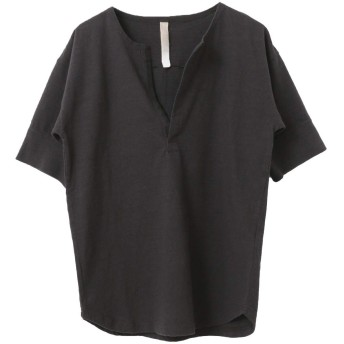 [アーバンリサーチ ドアーズ] tシャツ siiwa リブスリーブTシャツ レディース CHARCOAL one
