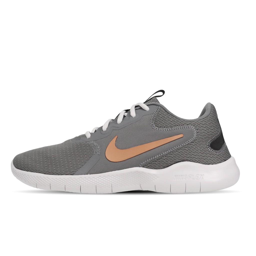 Nike 慢跑鞋 Flex Experience Run 9 灰 金 男鞋 運動鞋 CD0225-003 【ACS】
