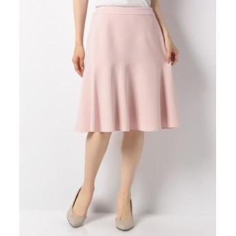 MISS J/ミス ジェイ シルキーストレッチ スカート ピンク 40
