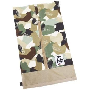 [チャムス] ボックスティッシュカバー Box Tissue Cover Sweat Nylon Camo