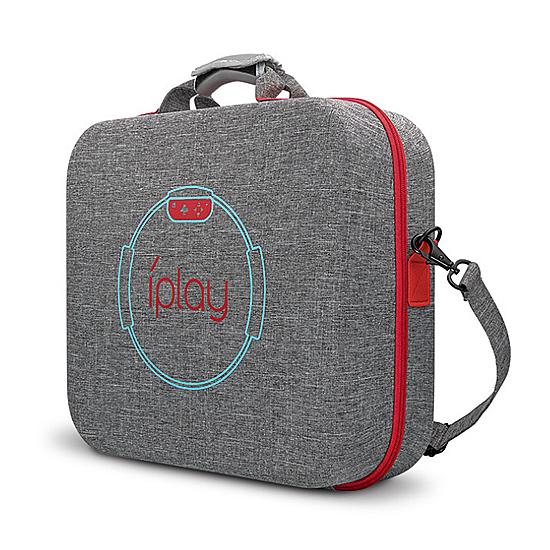 [哈GAME族]免運費 可刷卡●周邊輕鬆攜帶●iPlay NS HBS-191 Ring-con健身環主機配件收納箱 配件包