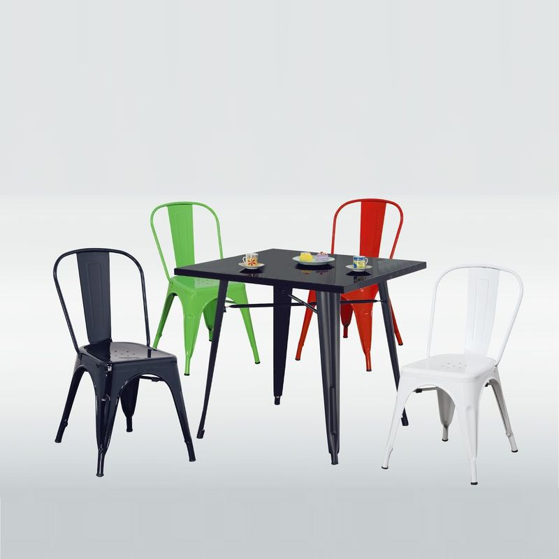 【UA251-1】T18烤漆面休閒桌