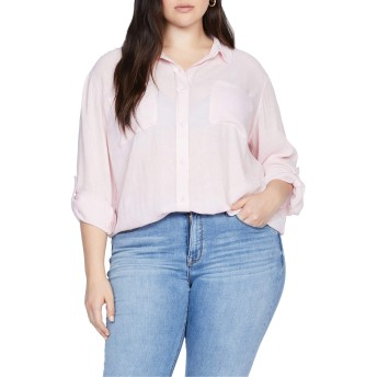 [サンクチュアリー] レディース シャツ Sanctuary Waverly Boyfriend Shirt (Plus [並行輸入品]