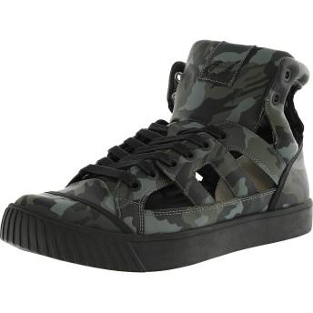 Onitsuka Tiger Ok-Glory Gladiator Grey Camo/Grey Camo Ankle-High Fashion Sneaker - 9.5M / 8M