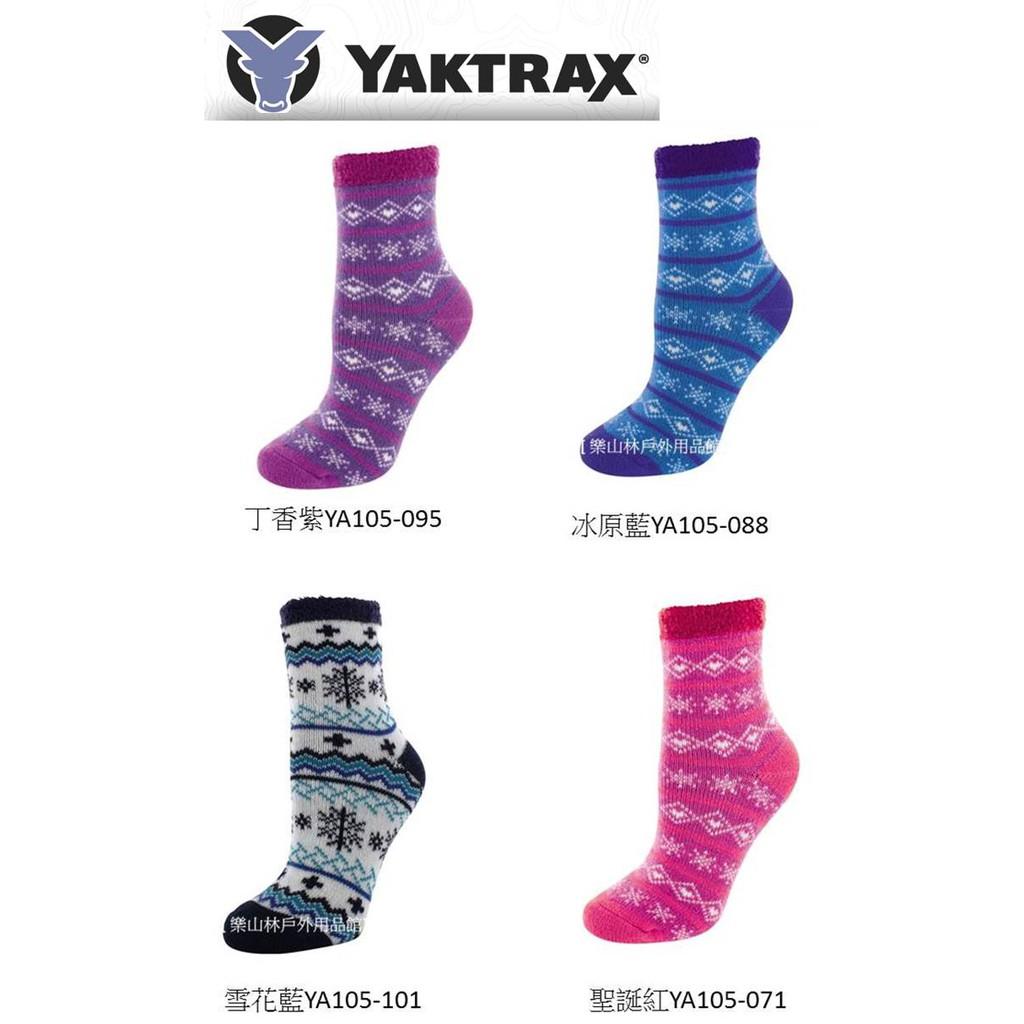 【YAKTRAX】美國-阿爾卑斯山雪地小木屋專用之[厚絨刷毛保暖襪](YA105)