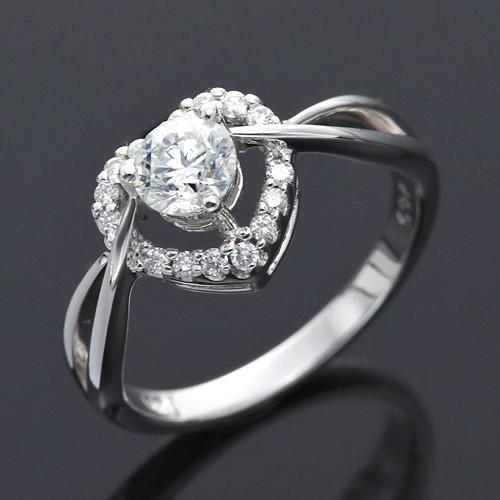 Dolly 求婚戒 0.30克拉 30分完美車工 14K金鑽石戒指(034)