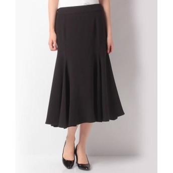 LAPINE BLEUE/ラピーヌ ブルー ダブルクロスマーメイドスカート(梨地) ブラック 38