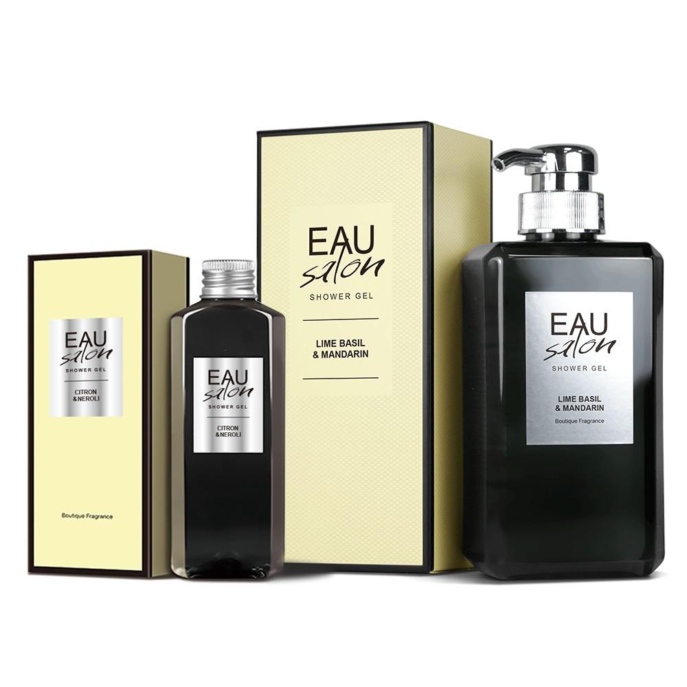 【EAU Salon耀沙龍】低敏香氛沐浴露-買大送小組 香氛沐浴露|植萃胺基酸|玻尿酸|歐盟認證有機成份