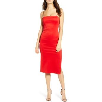 [フォーシースリーエヌエヌエー] レディース ワンピース 4SI3NNA Soren Sleeveless Side Slit Dress [並行輸入品]