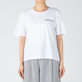 MELROSE CLAIRE(メルローズ クレール)/【Shaman】プリントTシャツ