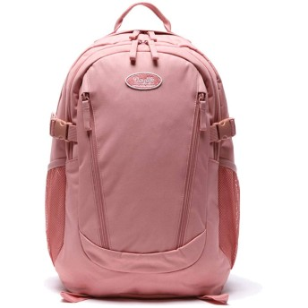 DaylifeAir Double line Backpack デーライフ 2020年 New ダブル ライン 大容量 男女共用 バックパック (ピンク) [並行輸入品]