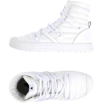 《セール開催中》VOLTA メンズ スニーカー&テニスシューズ(ハイカット) ホワイト 38 紡績繊維