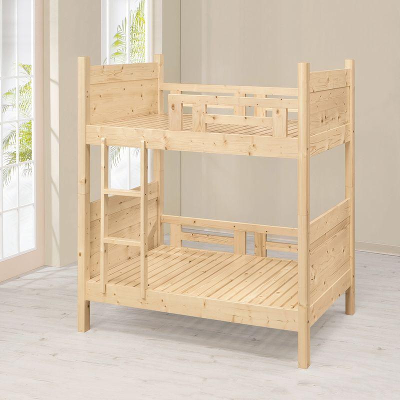 【UA60-1】松木雙層床