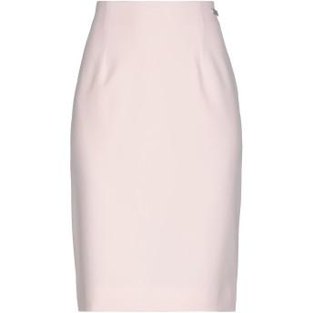 《セール開催中》ALESSANDRO DELL'ACQUA レディース ひざ丈スカート ライトピンク 40 ポリエステル 90% / ポリウレタン 10%