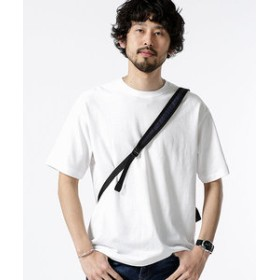 【nano・universe:トップス】【WEB限定】ローマジャガードビッグTシャツ 半袖