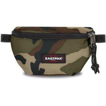 《セール開催中》EASTPAK Unisex バックパック&ヒップバッグ ミリタリーグリーン ポリエステル 100% SPRINGER