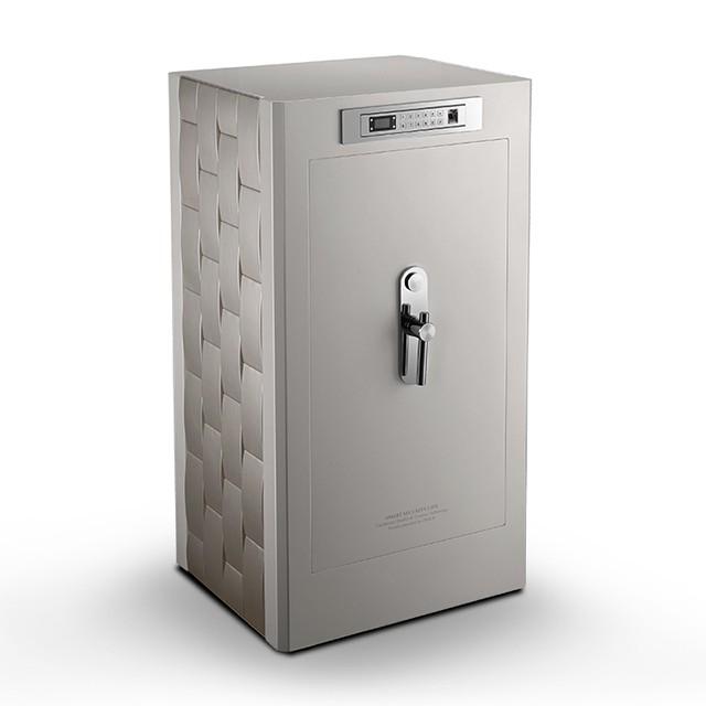 聚富 凡爾賽系列 頂級指紋密碼鎖保險櫃 S158 白