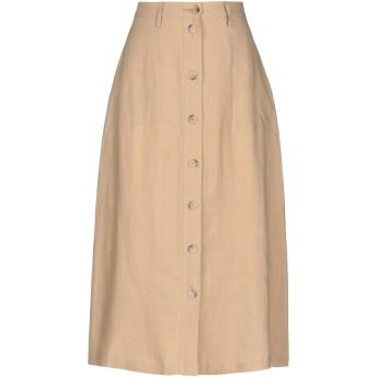 《セール開催中》NILI LOTAN レディース 7分丈スカート サンド 4 リネン 100%