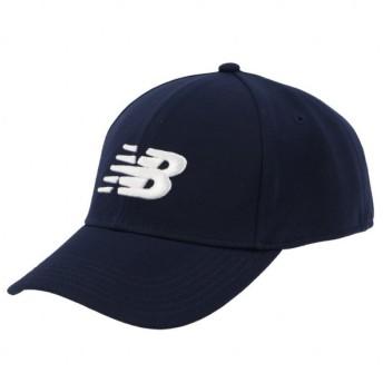 ニューバランス ロゴ キャップ MH934307 PGM 帽子 : ネイビー×ホワイト New Balance
