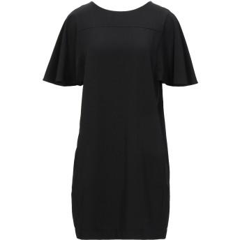 《セール開催中》HOPE COLLECTION レディース ミニワンピース&ドレス ブラック M ポリエステル 96% / ポリウレタン 4%