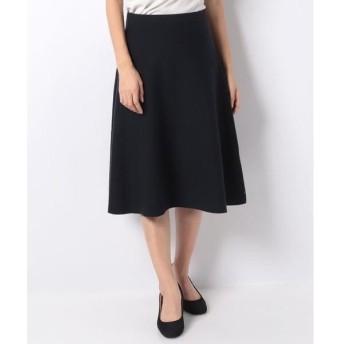 LAPINE BLEUE / ラピーヌ ブルー 12Gミラノリブニットフレアースカート