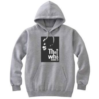 [8色]BANDLINE(バンドライン) The Who ザ フー バンド ロック パンク メタル パーカーグレー WMサイズ
