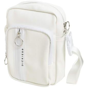 [ディッキーズ] ミニショルダーバッグ DK SYNTHETIC LETHER MINI SHOULDER BAG 14505000 (ホワイト)
