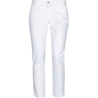 《セール開催中》BERWICH レディース パンツ ホワイト 42 コットン 98% / ポリウレタン 2%