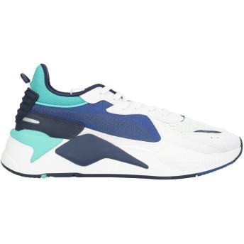 《セール開催中》PUMA メンズ スニーカー&テニスシューズ(ローカット) ホワイト 6 紡績繊維 RS X Hard Drive