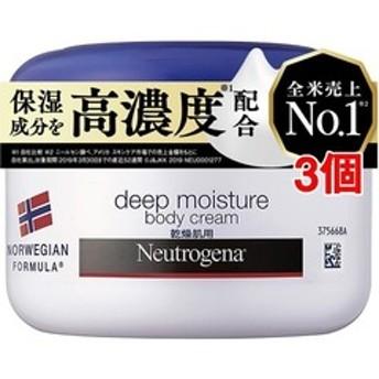 dポイントが貯まる・使える通販| ニュートロジーナ ディープモイスチャー ボディクリーム 乾燥肌用 微香性 (200ml*3個セット) 【dショッピング】 ボディクリーム おすすめ価格