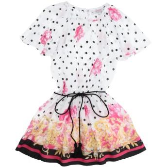 《セール開催中》ALETTA ガールズ 0-24 ヶ月 ワンピース・ドレス ホワイト 24 レーヨン 100%