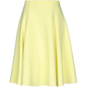 《セール開催中》DOUUOD レディース ひざ丈スカート ビタミングリーン 40 ポリエステル 94% / ポリウレタン 6%