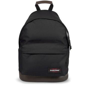 《セール開催中》EASTPAK Unisex バックパック&ヒップバッグ ブラック ナイロン 100% / 革 WYOMING