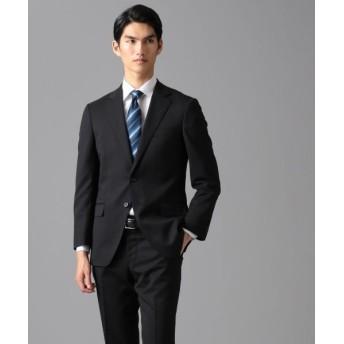 gotairiku/ゴタイリク 【リクルート】 コーデュラ×ソロテックス ストレッチ スーツ ブラック系 S34 (AB4)