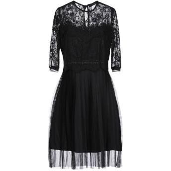 《セール開催中》GUESS レディース ミニワンピース&ドレス ブラック M ポリエステル 100%