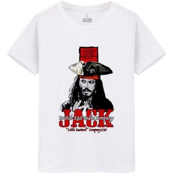 Pirates of the Caribbean パイレーツ・オブ・カリビアン 海賊 メンズ/レディース Tシャツ/夏服 半袖 Tシャ