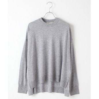 MARcourt/マーコート wool crew neck P/O l.gray FREE