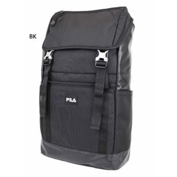送料無料 約20L フィラ メンズ レディース フラップリュック リュックサック デイパック バックパック バッグ 鞄 かぶせリュック ロゴ 撥水 軽量 FL-0008
