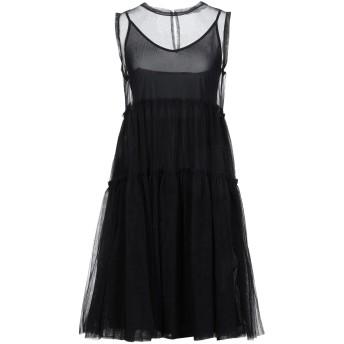 《セール開催中》I BLUES レディース ミニワンピース&ドレス ブラック 42 ナイロン 100%