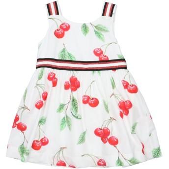 《セール開催中》ALETTA ガールズ 0-24 ヶ月 ワンピース・ドレス ホワイト 24 コットン 100%