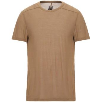 《セール開催中》RICK OWENS メンズ T シャツ ミリタリーグリーン XS レーヨン 88% / シルク 12%